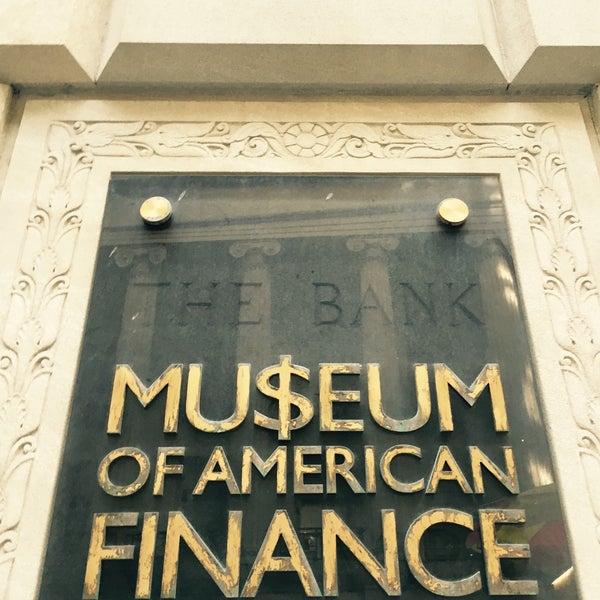 Foto tirada no(a) Museum of American Finance por Constantine V. em 3/12/2016