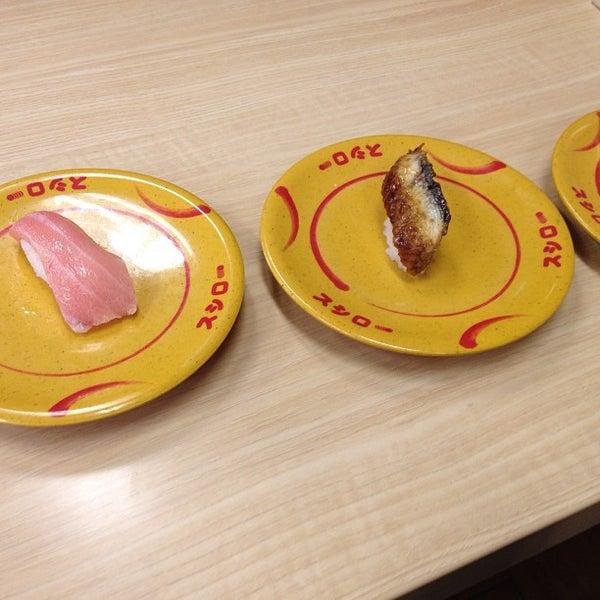 รูปภาพถ่ายที่ スシロー 瀬田店 โดย Go M. เมื่อ 8/9/2013