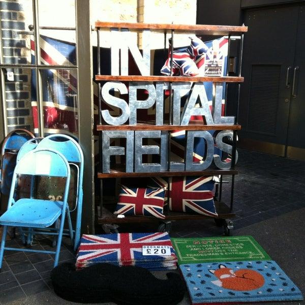 Foto tomada en Old Spitalfields Market por Rodrigo H. el 3/14/2013