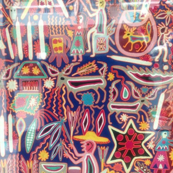 Das Foto wurde bei Museo de Arte Popular von Karla M. am 6/30/2013 aufgenommen