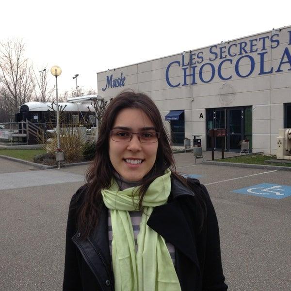 Foto tomada en Musée du Chocolat por Germana R. el 3/29/2013