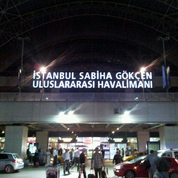 Снимок сделан в Аэропорт Стамбул им. Сабихи Гёкчен (SAW) пользователем Berkant D. 5/9/2013