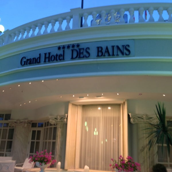 6/22/2013にIbra I.がGrand Hotel Des Bainsで撮った写真