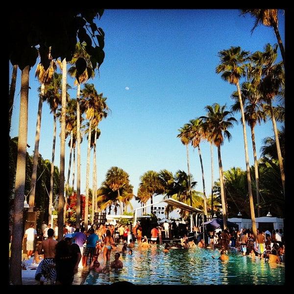 Photo prise au Delano Beach Club par Paolo T. le3/24/2013