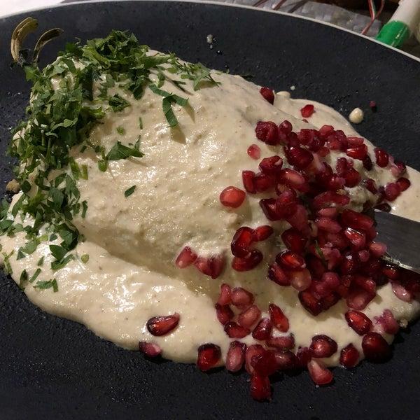 Los chiles en nogada deliciosos