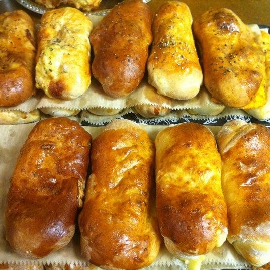 Try the hand-held breakfast Kolache stuffed with potato, egg & jack cheese or with chorizo sausage, egg & cheese. Good stuff!