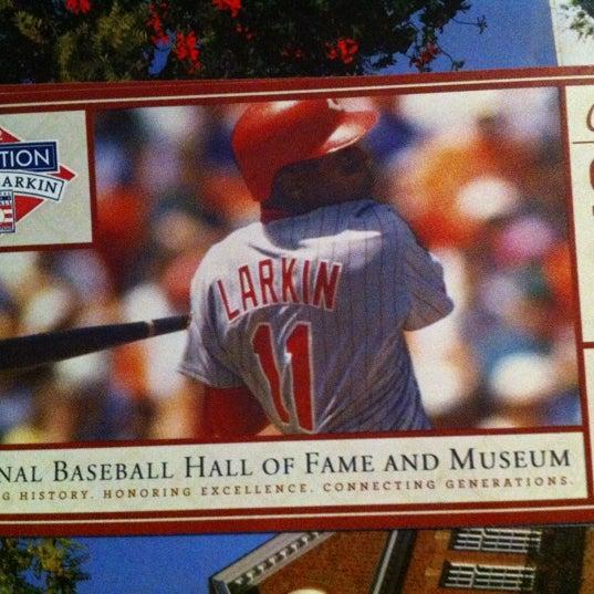 7/17/2012 tarihinde Zach T.ziyaretçi tarafından National Baseball Hall of Fame and Museum'de çekilen fotoğraf