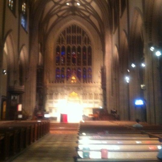 Photo prise au Trinity Church par Woody L. le3/23/2012