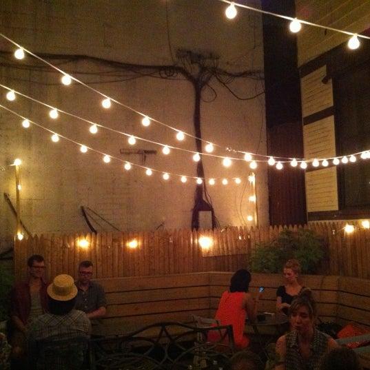 Снимок сделан в Soft Spot Bar пользователем Eric R. 8/4/2012