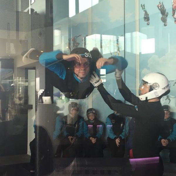 Das Foto wurde bei Airspace Indoor Skydiving von Arnaud V. am 4/8/2017 aufgenommen