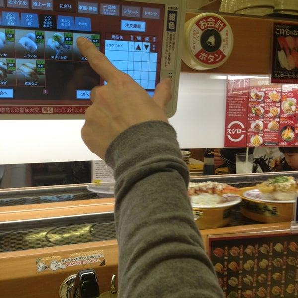 รูปภาพถ่ายที่ スシロー 瀬田店 โดย momo เมื่อ 3/20/2013