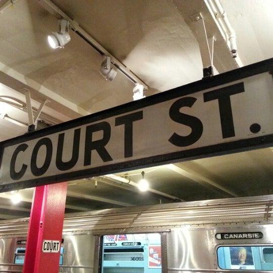 1/2/2013 tarihinde Michael G.ziyaretçi tarafından New York Transit Museum'de çekilen fotoğraf