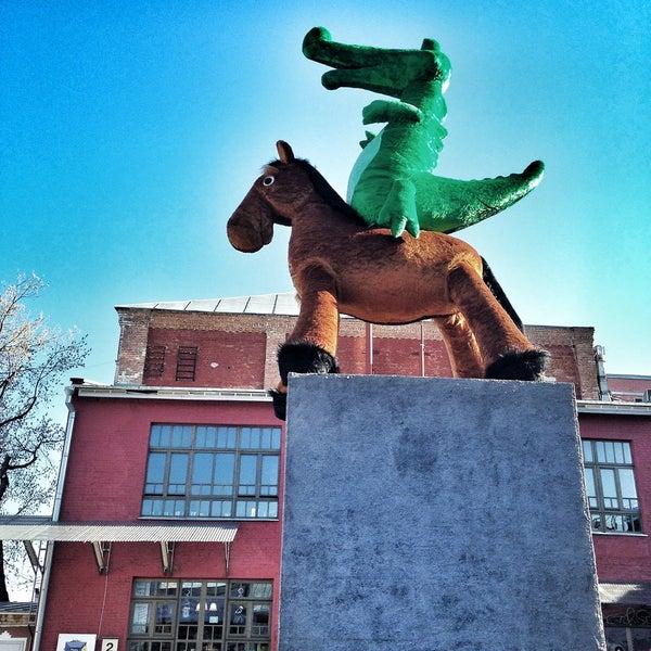 5/2/2013 tarihinde Natalie G.ziyaretçi tarafından Winzavod'de çekilen fotoğraf