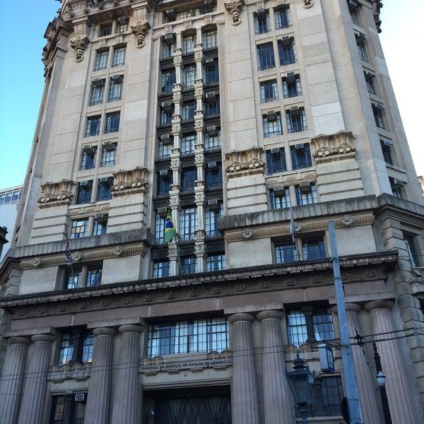 TjSP - Pátio Do Colégio - Tribunal em São Paulo