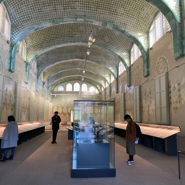 Photo taken at Sant Pau Recinte Modernista by Lewis W. on 1/14/2020