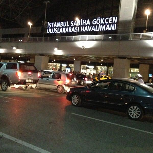 Снимок сделан в Аэропорт Стамбул им. Сабихи Гёкчен (SAW) пользователем Fatih K. 6/21/2013