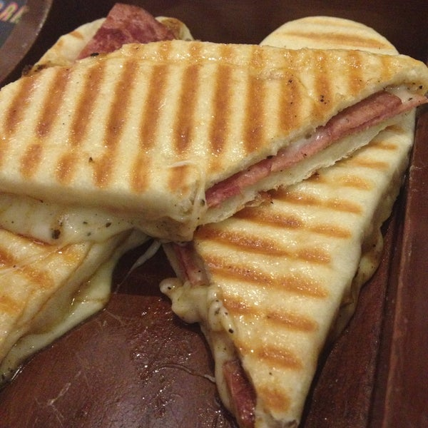 I tried Bacon & Cheese Panini, the taste was good..  Overall, the taste and ambience is nice but pricey then this is non-halal restaurant, they serve pork in the menu
