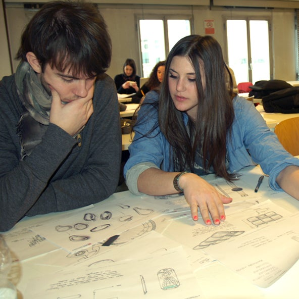 Scuola Italiana Design è anche... disegno manuale e progettazione creativa!