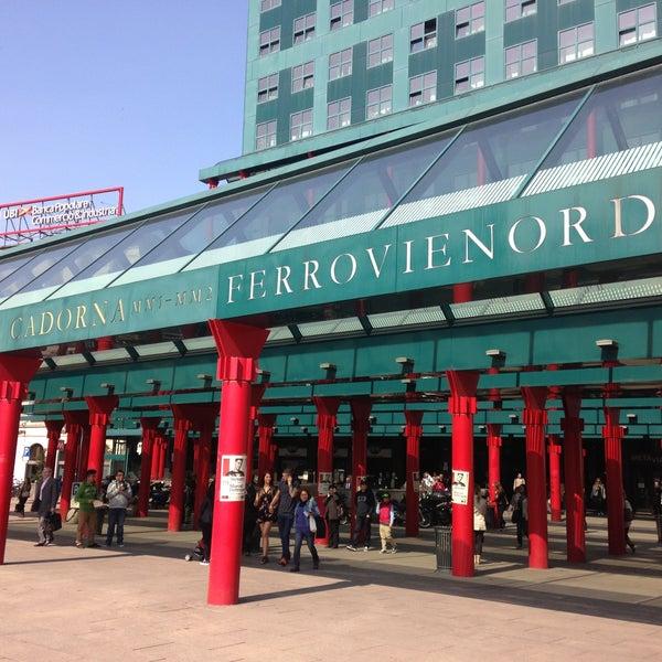 Stazione Milano Cadorna - Train Station in Milano