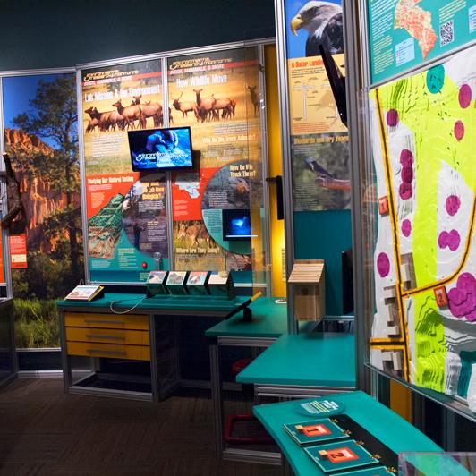 Photo taken at Bradbury Science Museum by Bradbury Science Museum on 6/3/2015