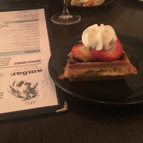Photo prise au Ambar Balkan Cuisine par Marie le5/11/2019