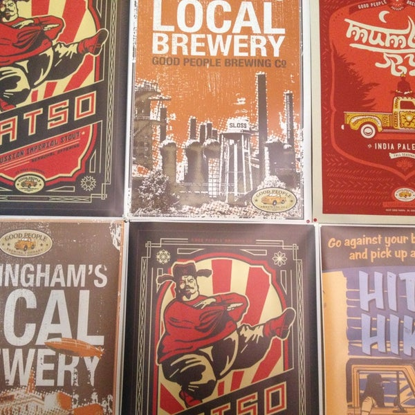 Foto diambil di Good People Brewing Company oleh Zack S. pada 3/16/2013
