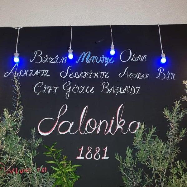 Foto diambil di Salonika 1881 oleh Arzu O. pada 8/13/2018