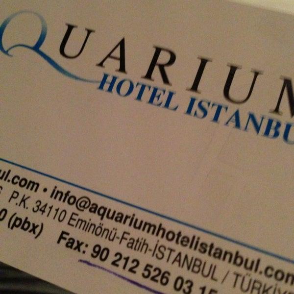 6/1/2013 tarihinde Vasiliy S.ziyaretçi tarafından Aquarium Hotel Istanbul'de çekilen fotoğraf