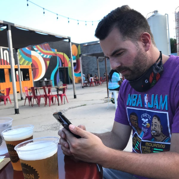 Photo taken at Union Craft Brewing by Kelly W. on 7/11/2020