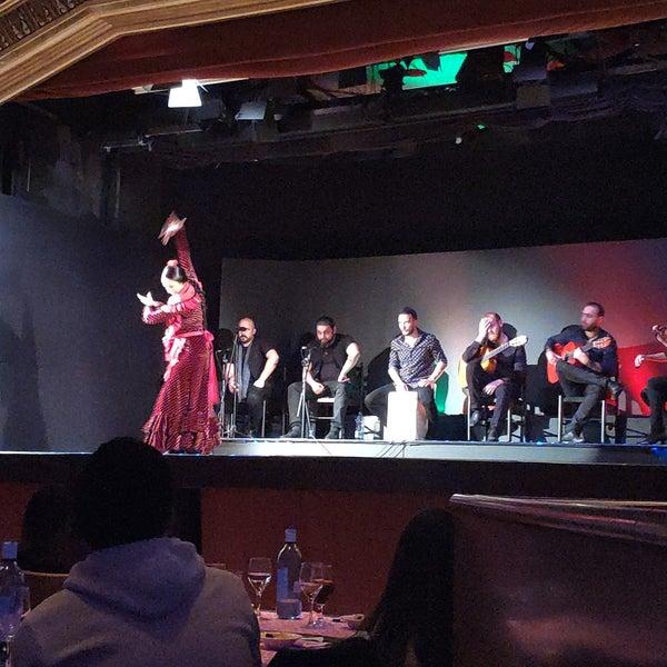 Das Foto wurde bei Palacio del Flamenco von Serkan K. am 2/15/2019 aufgenommen