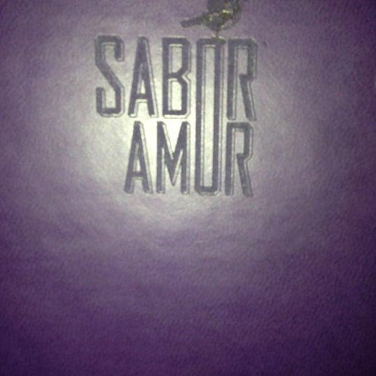 Das Foto wurde bei Sabor Amor von Lorena M. am 11/24/2012 aufgenommen