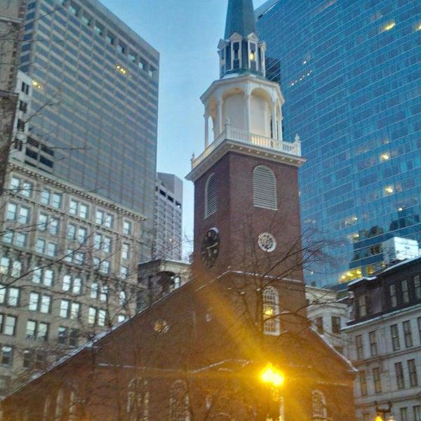 2/16/2014 tarihinde Jakub S.ziyaretçi tarafından Old South Meeting House'de çekilen fotoğraf