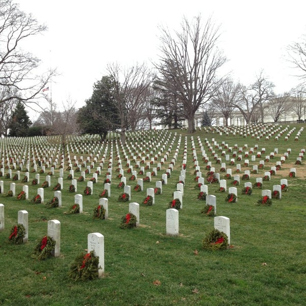 Foto scattata a Arlington National Cemetery da David P. il 1/14/2013