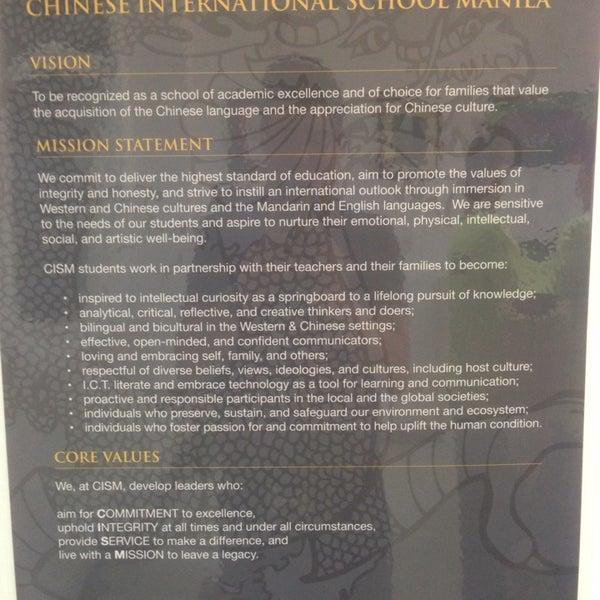 Photos at Chinese International School Manila - Taguig