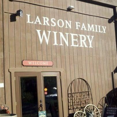 Das Foto wurde bei Larson Family Winery von Jack S. am 10/22/2011 aufgenommen