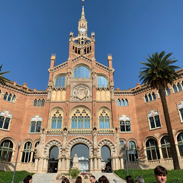 Photo taken at Sant Pau Recinte Modernista by ゆか on 2/15/2020