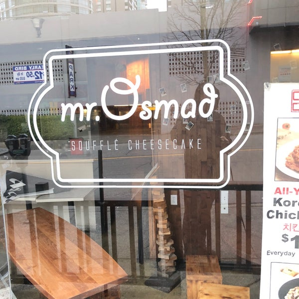 West End Vancouver: Mr. Osmad Cheesecake