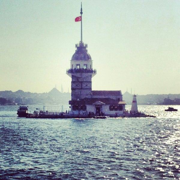 7/7/2013にEsra E.がKız Kulesiで撮った写真