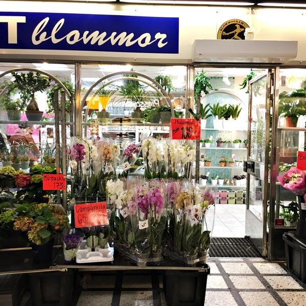 blomsteraffär farsta centrum