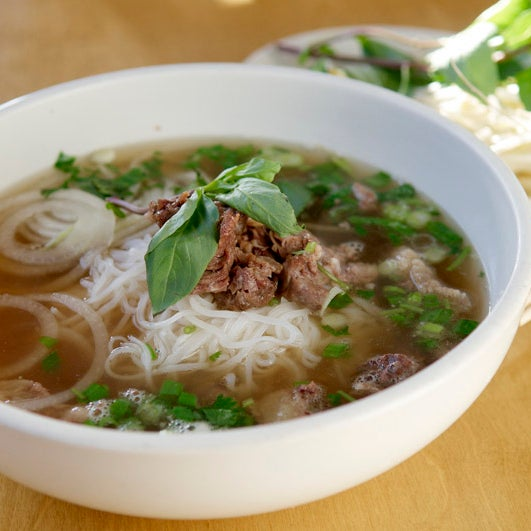 While the restaurant offers American bistro staples, its Vietnamese classics tend to be stronger: The beef pho might just be the best in the state, with a sweet, winter-spice accented broth.