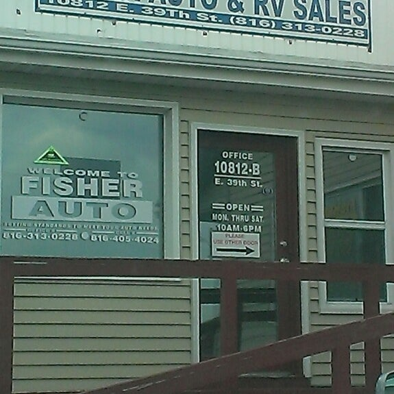 Fisher Auto Sales >> Fisher Auto Rv Sales Independence Mo