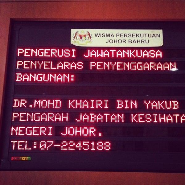 Foto Di Wisma Persekutuan Jalan Ayer Molek