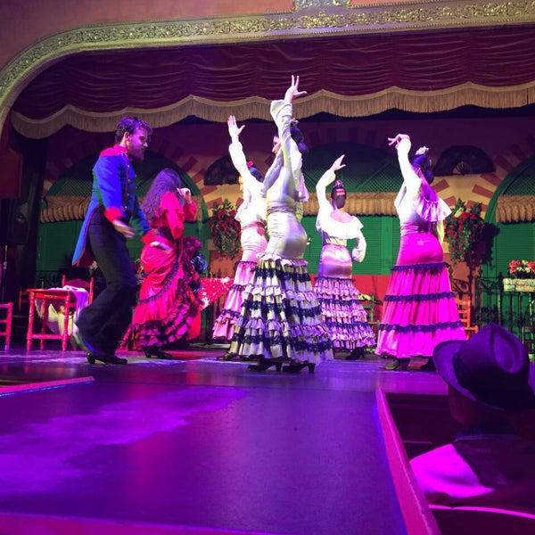 Foto tomada en Tablao Flamenco El Palacio Andaluz por Görkem İ. el 7/13/2016