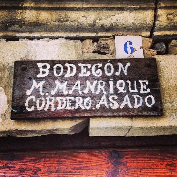 El bodegon de manrique pedraza de la sierra nordkastilien - Bodegon manrique ...