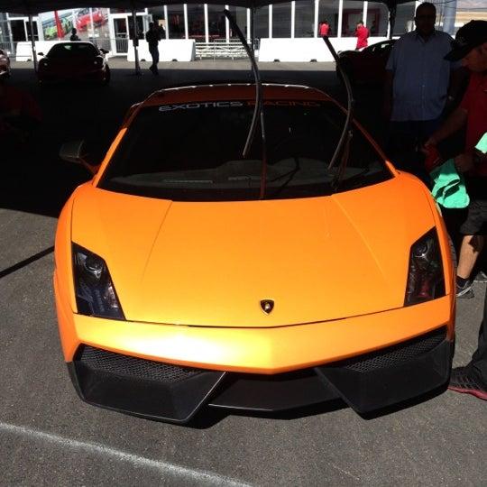 Снимок сделан в Exotics Racing пользователем Angat B. 10/15/2012