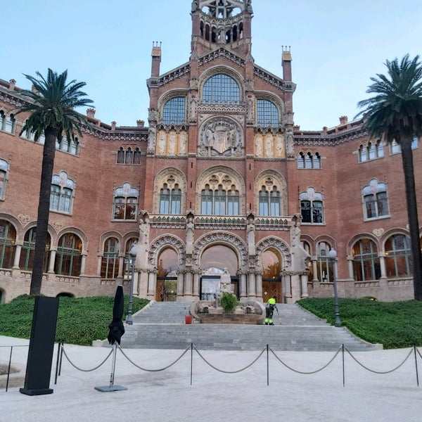 Photo taken at Sant Pau Recinte Modernista by TAXI650 BAGES 6. on 10/2/2020