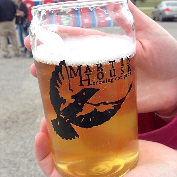 Photo taken at Martin House Brewing Company by Drate B. on 3/23/2014