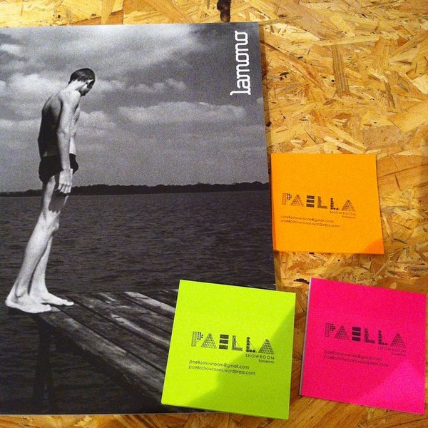 Photo prise au Paella Showroom Barcelona par paella s. le3/26/2015