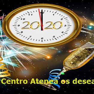 CENTRO ATENEA OS FELICITA LAS FIESTAS Y OS DESEA UN FELIZ 2020