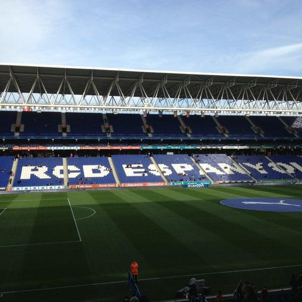 Foto diambil di RCDE Stadium oleh Juanjo T. pada 3/3/2013